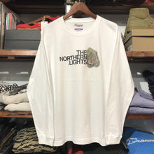 "【ラス1】RUGGED ""THE NORTHERN LIGHTS"" L/S tee (White)"