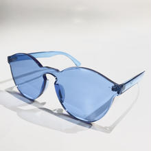 "【ラス1】RUGGED ""One lens"" sunglasses(Blue)"