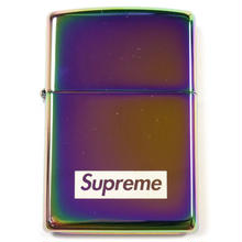 【ラス1】Supreme Spectrum Iridescent Zippo Lighter (Aurora)
