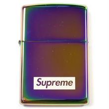 【ラス1】Supreme Spectrum Iridescent Zippo Lighter (Aurora)