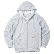 【残り僅か】Carhartt full-zip hoodie(Heather Gray)