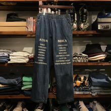 "RUGGED on vintage ""SAT/IND"" easy denim (M) ②"