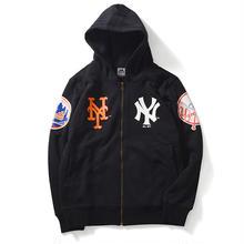 【ラス1】Majestic NEW YORK FULL ZIP PARKA(Black)