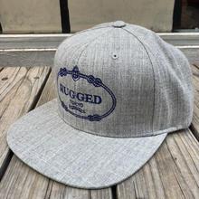 """RUGGED """"RUGGED TOKYO"""" snap back(Gray)"""