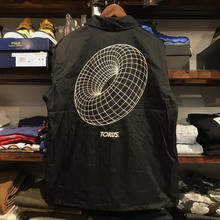 "RUGGED ""TORUS"" coach jacket (Black/Off White)"
