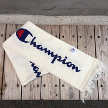 【ラス1】Champion BIG LOGO SCARF (White)