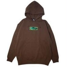 "【ラス1】AnotA × ANDSUNS ""POX"" sweat hoody(10oz./BRN)"