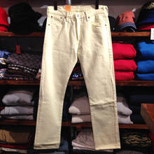 【残り僅か】Levi's ''501'' straight leg denim (Lemon yellow)
