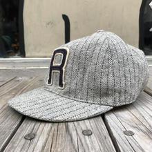 RRL  Striped Herringbone Ball Cap