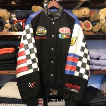JEFF HAMILTON reversible racing  jacket (XL)