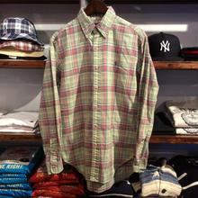 POLO RALPH LAUREN B.D. check shirts (S)