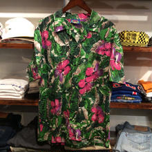 HAWAII BLUES aloha shirt(L)