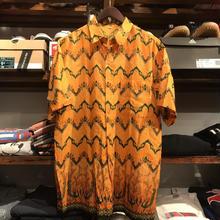 nobrand pattern S/S shirt (M)