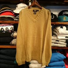 RRL v-neck sweater (XL)