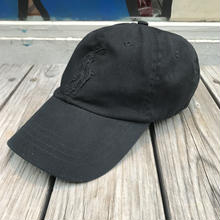 POLO RALPH LAUREN Big pony leather adjuster cap