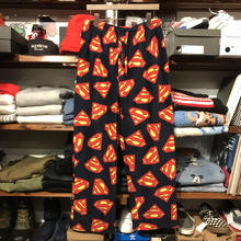 SURERMAN logo boa fleece easy pants