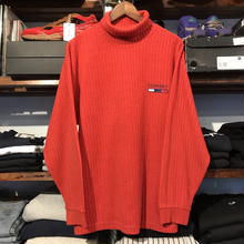 Bootleg TOMMY rib knit sweater