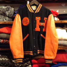 BIG8 chenille wappen stadium jacket