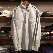 POLO RALPH LAUREN dungaree shirt(L)