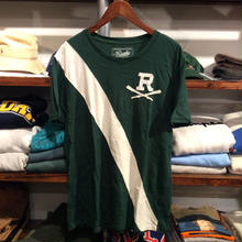 RUGBY  R paddle logo tee(M)