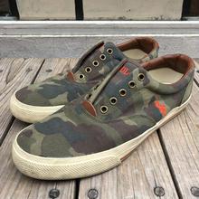 POLO RALPH LAUREN  camo slip on sneaker(27.5cm)