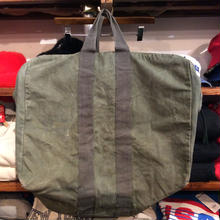 military  parachute boston bag