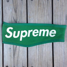 Supereme fleece hair band (Green)