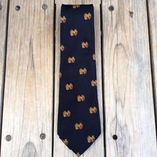 POLO RALPH LAUREN emblem necktie