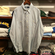 POLO RALPH LAUREN stripe shirt (L)