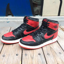 "NIKE AIR JORDAN 1 HIGH OG ""BRED"" (23.5cm)"
