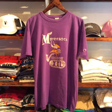 Minnesota Vikings logo tee(XL)