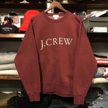 J.CREW logo sweat (S)