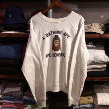 A BATHING APE GENERAL raglan sweat