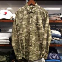 68&BROTHERS  B.D. camo shirt(M)