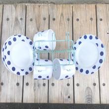 MELAMINE Plastic plate & cup set