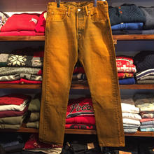 Levi's 501 Orange denim pants