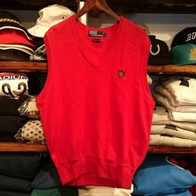 POLO RALPH LAUREN Golf emblem knit vest (M)