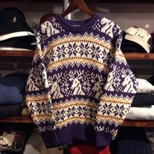 MEMORIAL SPORTS nordic sweater(M)