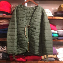 no brand quilting string Liner coat