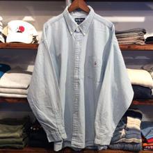 POLO RALPH LAUREN dungaree shirt(XXL)