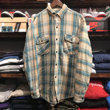 PINE TRAIL cotton check shirt (L)