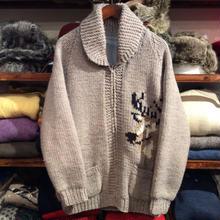no brand reindeer cowichan sweater