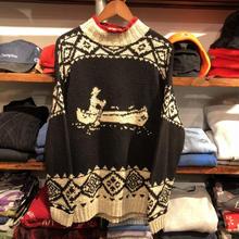 LAUREN by RALPH LAUREN Kayak hand knit high neck sweater(M)