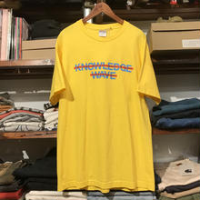 KNOWLEDGE WAVE tee(L)