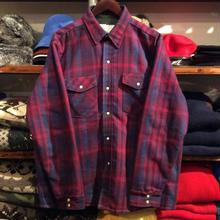 SADDLE KING WESTERN  check shirt jacket (M)