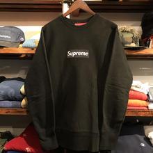 """Supreme """"BOX LOGO"""" sweat(Black)"""