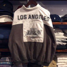 "college concepts inc. ""LA KINGS"" half button sweat (XL)"