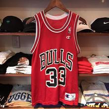"Champion NBA CHICAGO BULLS ""PIPPEN 33"" basketball jersey (S)"