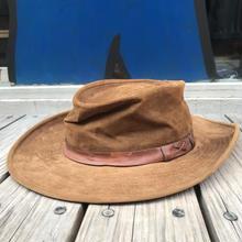 Eddie Bauer leather hat