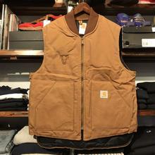 Carhartt bull duck vest (XL)
